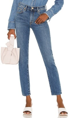 7 For All Mankind Peggi Skinny Jean