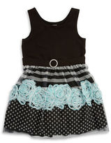Iris & Ivy Girls 7-16 Tulle Floral Party Dress