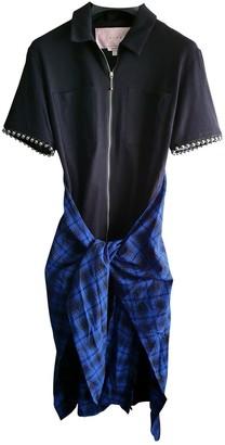 Alyx Black Cotton Dresses