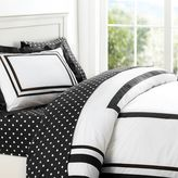 PBteen Suite Bundle with Dottie Sheeting, Black