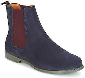 Sebago CHELSEA DONNA SUEDE women's Mid Boots in Blue