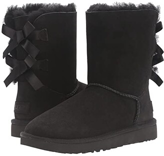 UGG Bailey Bow II (Black) Women's Boots