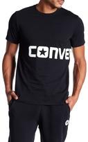 Converse Logo Wrap Print Tee