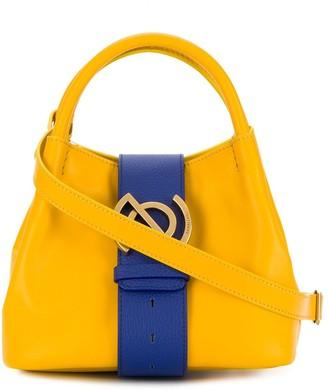Zanellato Contrast Stripe Tote Bag