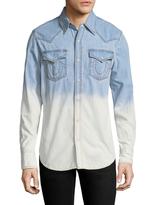 True Religion Western Fading Cotton Sportshirt