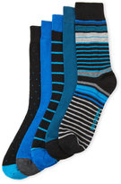 Ben Sherman 5-Pack Assorted Socks