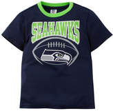 Gerber Seattle Seahawks Poly Football T-Shirt, Toddler Boys (2T-4T)