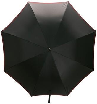 Alexander McQueen Embellished Logo Umbrella