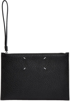 Maison Margiela Black Stitch Pouch
