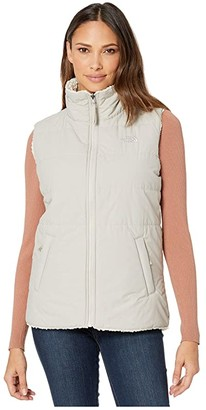 The North Face Merriewood Reversible Vest (Dove Grey/Vintage White) Women's Vest