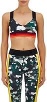 NO KA 'OI No Ka'Oi Women's Ola Camouflage-Striped Sports Bra