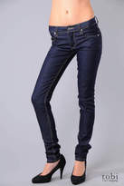 Narrow Skinny Jeans in Cheap Unwash