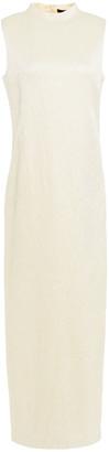 The Row Kelsey Wool-blend Cloque Maxi Dress