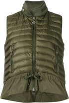 Moncler hooded padded front gilet - women - Cotton/Polyamide/Polyester/Goose Down - S