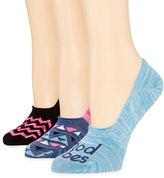 MIXIT Mixit 3-pc. Knit Liner Socks
