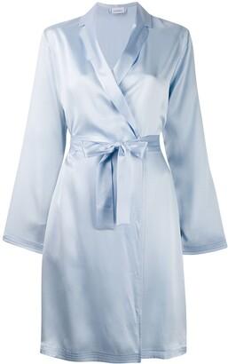 La Perla silk short robe