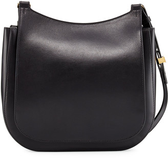 The Row Hunting 11 Leather Crossbody Bag