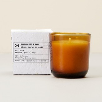 Indigo Scents Garden Glass Candle 04 Sandalwood And Sage Small
