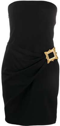 Moschino Frame-detail mini dress