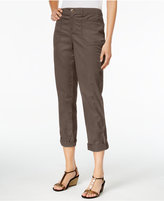 Style&Co. Style & Co. Cuffed Slim-Leg Pants, Only at Macy's