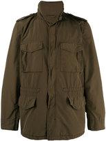Aspesi high collar military jacket - men - Polyamide/Polyester - XL