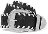 Maison Margiela Embossed Leather Waist Belt