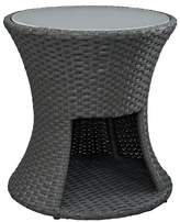 Modway Sojourn Outdoor Round Patio Side Table - Chocolate