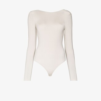 Wolford Memphis scoop back bodysuit