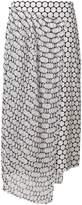 Diane von Furstenberg straight printed skirt