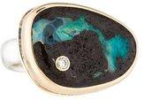 Jamie Joseph Diamond & Boulder Opal Cocktail Ring