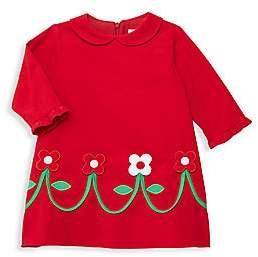 Florence Eiseman Baby's & Little Girl's Floral Appliqué Corduroy Dress
