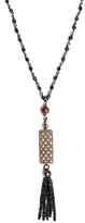Jade Jagger Diamond, spinel, pearl & silver necklace