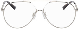 McQ Silver Aviator Glasses
