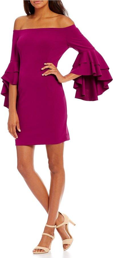Antonio Melani Delia Bell Sleeve Dress