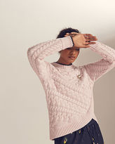 Ted Baker Asymmetric cable knit sweater
