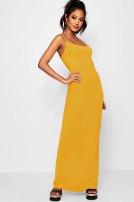boohoo Basic Strappy Maxi Dress