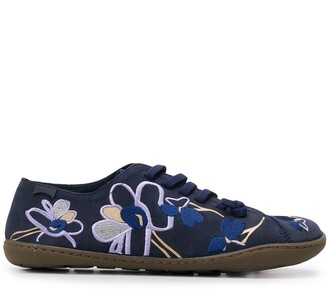 Camper TWS embroidered trainers