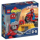 Lego ; DUPLO®; Super Heroes Spider-Man Web-Bike Workshop 10607