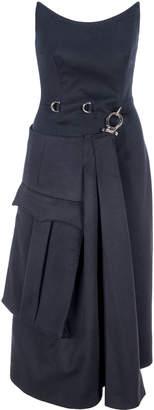 Prada Heavy Cloth Sheath Dress