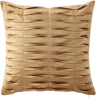 Dian Austin Couture Home Emporium Pleated Velvet European Sham, Gold