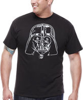 Star Wars STARWARS Darth Vader Short-Sleeve Graphic Tee - Big & Tall