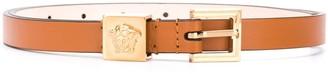 Versace thin Medusa buckle belt