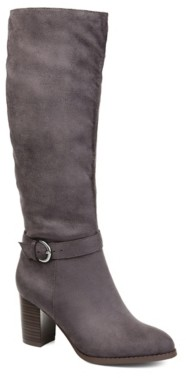 Journee Collection Joelle Extra Wide Calf Riding Boot