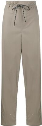Filippa K Soft Sport Wide Leg Paperbag Waist Trousers