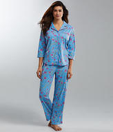 Karen Neuburger Dynasty Knit Pajama Set