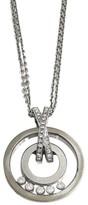 Chopard 18K White Gold Happy Diamond Necklace 796249