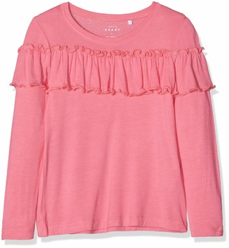 Name It Girl's Nkfvalda Ls Top T Noos Jumper