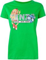 Kenzo glitter hotdog T-shirt