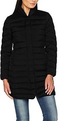 Gant Women's Lightweight Down Coat Jacket, Black, 14 (Size:L)