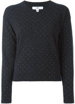 Allude embellished sweater